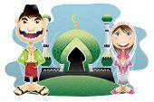 pic of fitri  - Moslem islam Eid ul - JPG