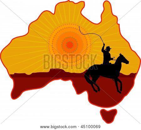 Australien Horseman.eps