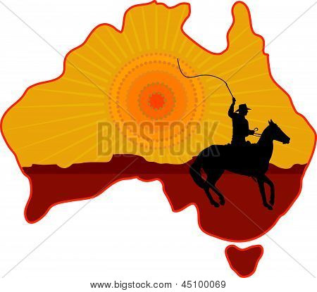 Australia Horseman.eps