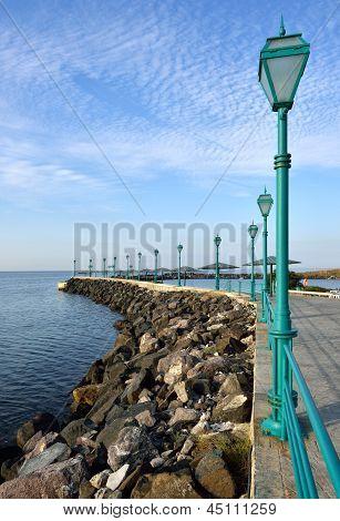 Promenade of the Sea coast