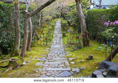 Jardín Zen en Kyoto