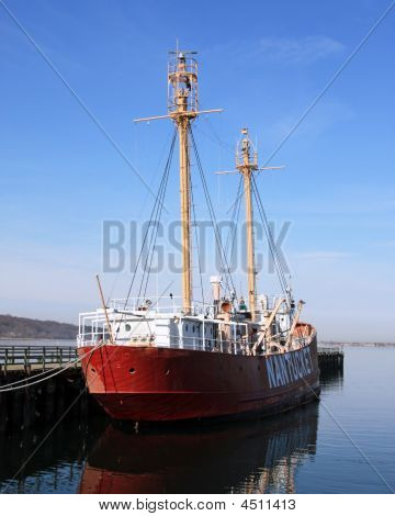 Lightship Nantucket Stern View