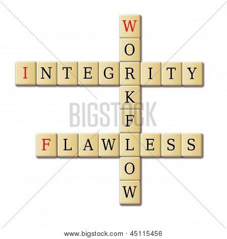 Flawless Workflow Crossword