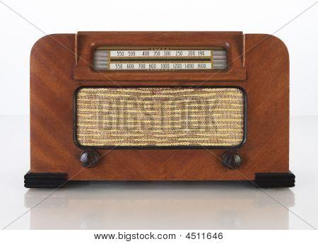 Radio del tubo antiguo Vintage