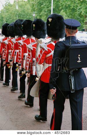 Marching Royal Guard