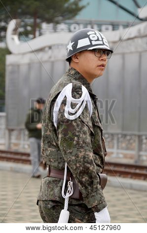 South Korean Soldier