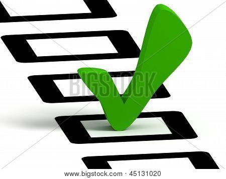 Símbolo de lista de verificação