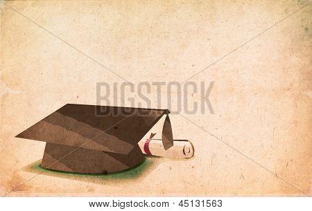 Graduation Vintage Concept