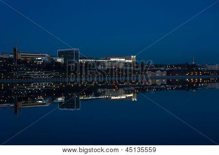 The embankment of Izhevsk