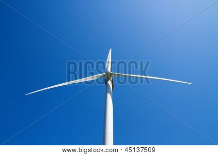 Wind Turbines Generating Electicity