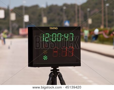 Electronic Timer And Display
