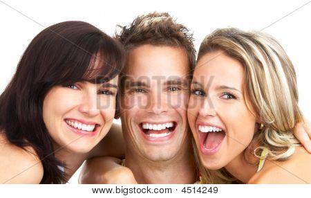 Gente feliz