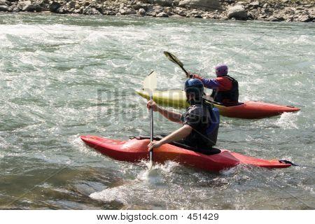 Kayaking - Nepal