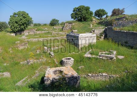 Ancient Troy Ruins