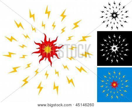 Ilustración del sol