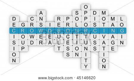 Crowdsourcing crossword_top view