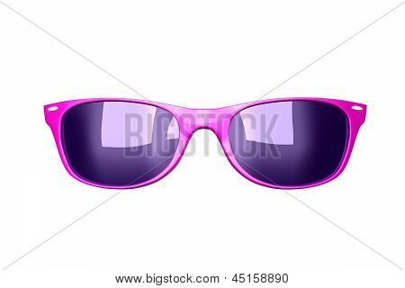 Glamour Pink Sunglasses