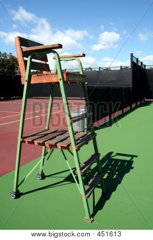 Tennis Judge's Chair