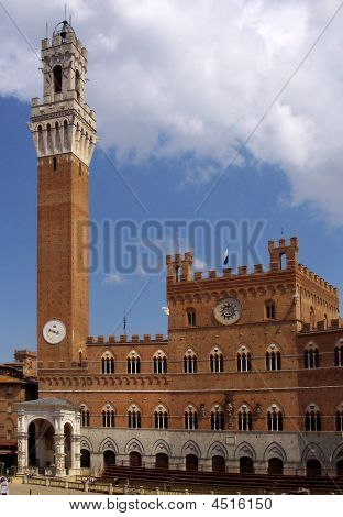 Historic Palace In Siena, Italy