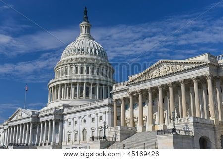 United States Capitol Building Ostfassade - Washington DC-USA