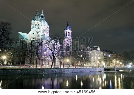 St. Lukas church, Munich, Germany