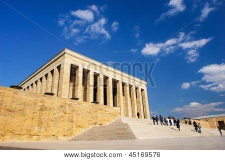 Ankara, Turquía - Mausoleo de Ataturk