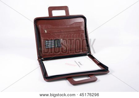 Report In Briefcase
