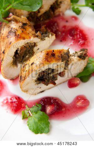 Chicken Breast Roulade