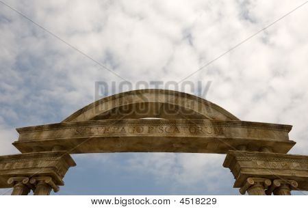 Macao Arch And Columns
