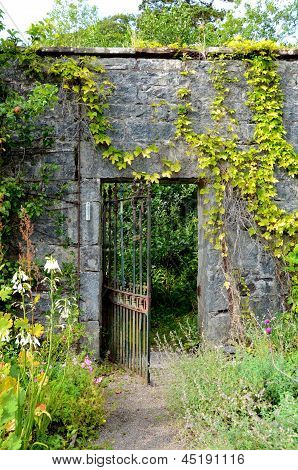 Walled garden, Applecross, Scotland