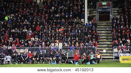 Super Rugby Game Spectators