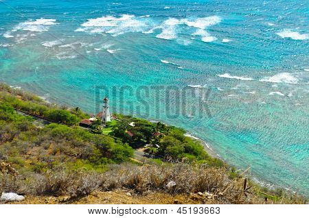 Long shot lighthouse