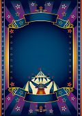 picture of school carnival  - festivities purple circus - JPG