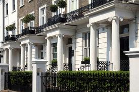 picture of kensington  - Regency Georgian terraced town houses in London - JPG