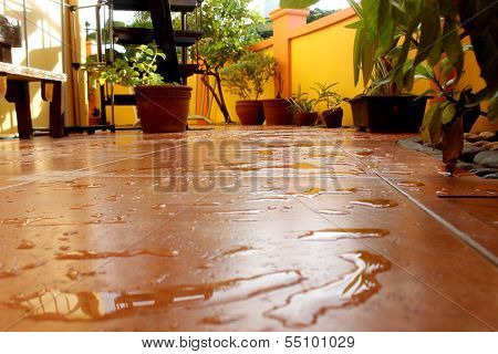 Wet Patio