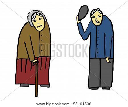 Grandmother Grandfather Seniors