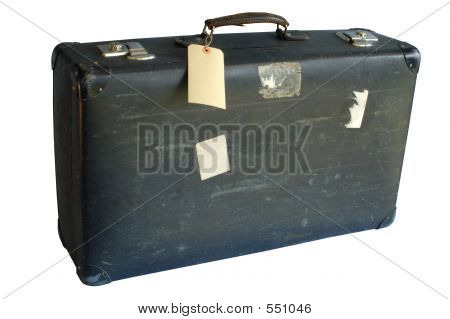 Old Suitcase (with Clipping Path)