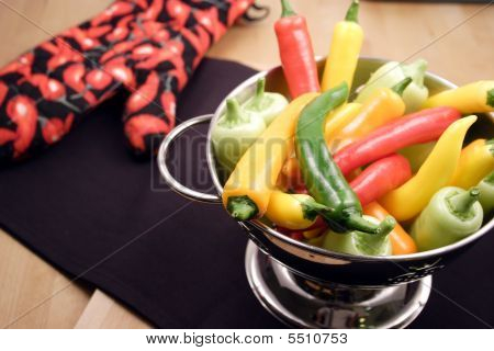 Assorted Organic Peppers
