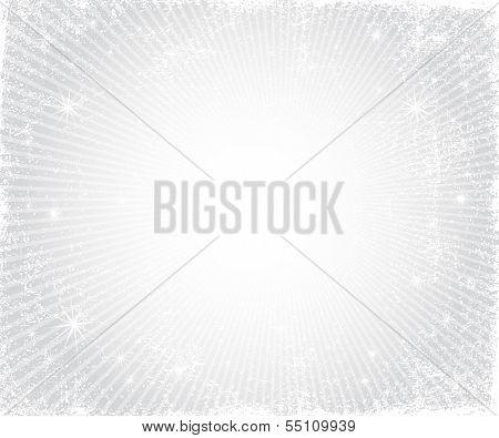 Christmas  Silver Frame