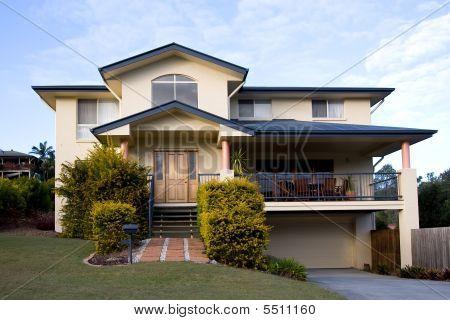 Modern Two Storey House