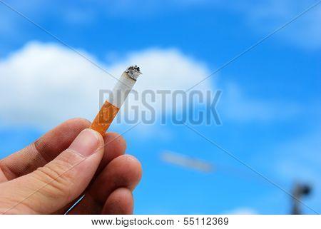 Alone Cigarette