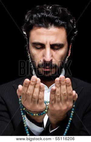 Western Muslim Praying