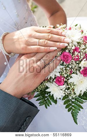 Newlyweds Hands