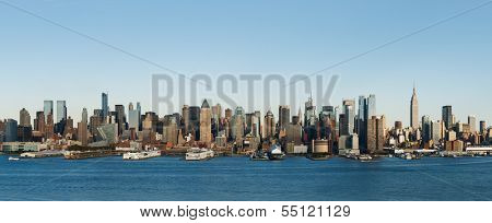 New York skyline during the day