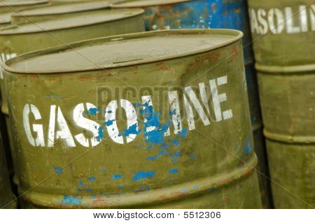 Gasoline Drums