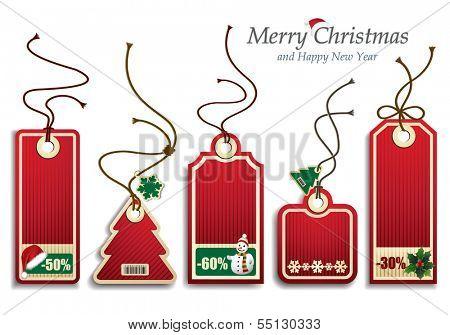 Christmas Price Tags