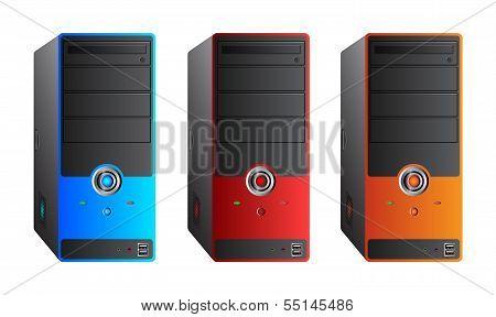 Colorful Computer Case