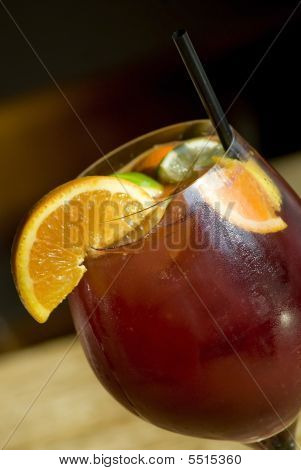 Sangria Summer Wine Beverage