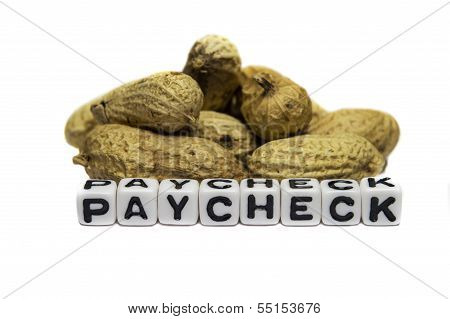 Peanuts In Paycheck