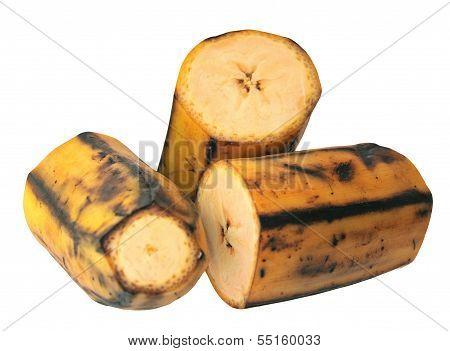 Cutting Plantain Banana